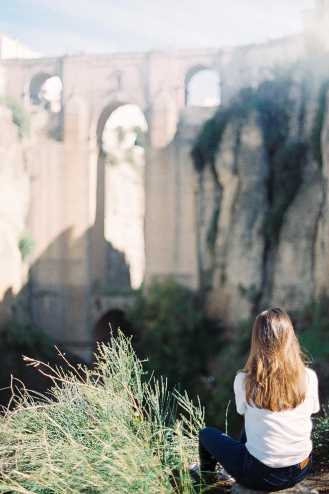 Ронда Испания мост фото