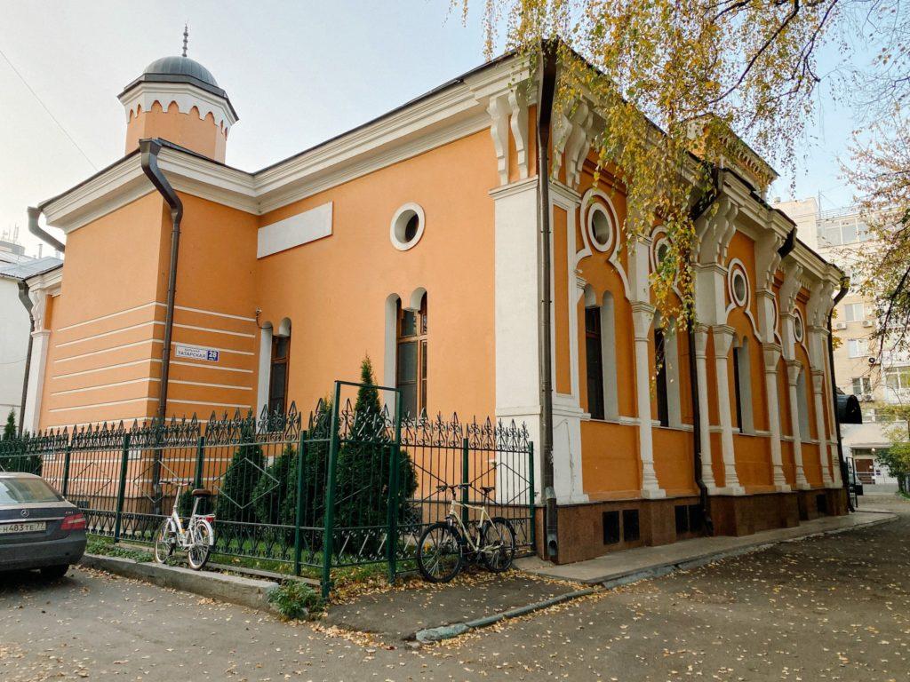 Историческая мечеть Москвы фото