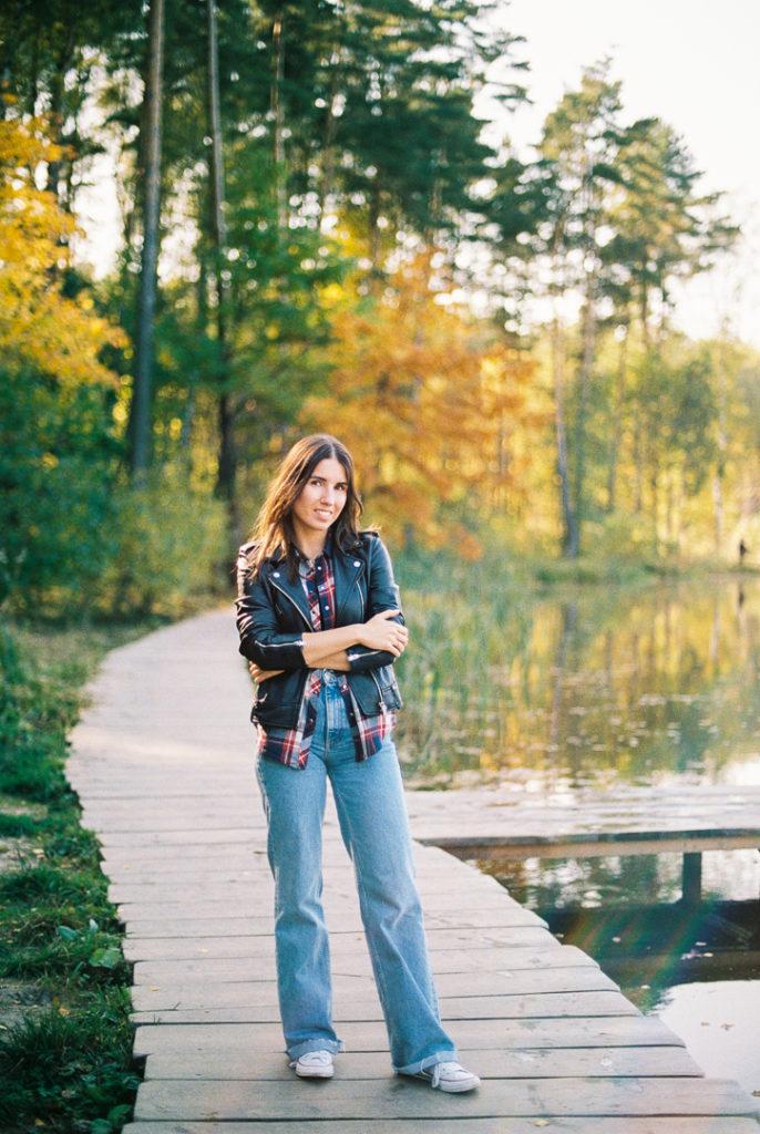 парк Мещерский осенью фото