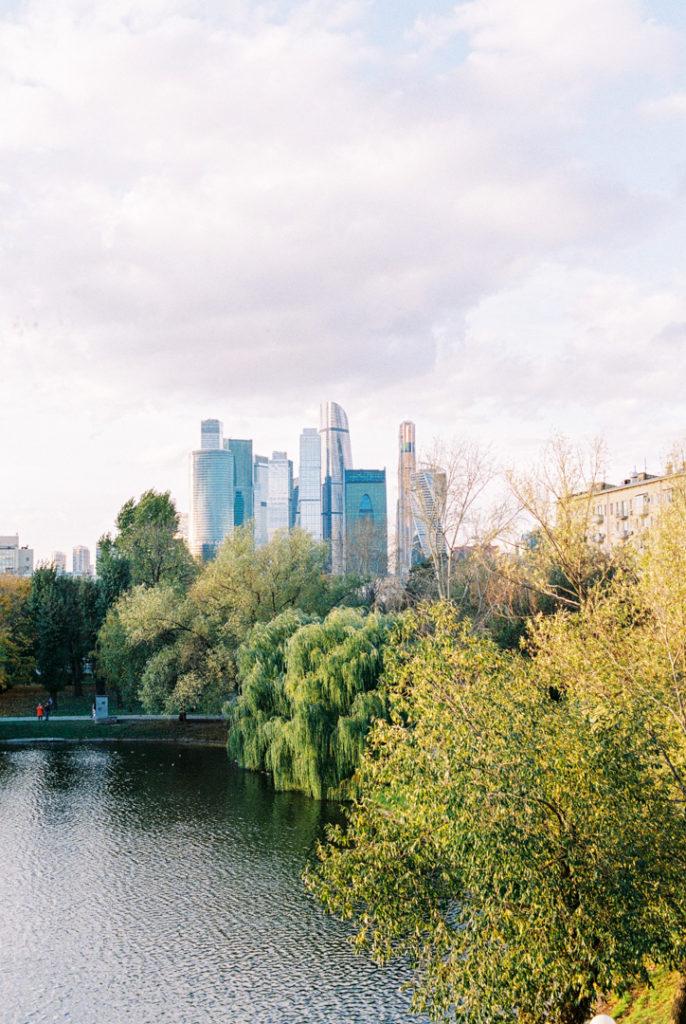 Москва-сити вид