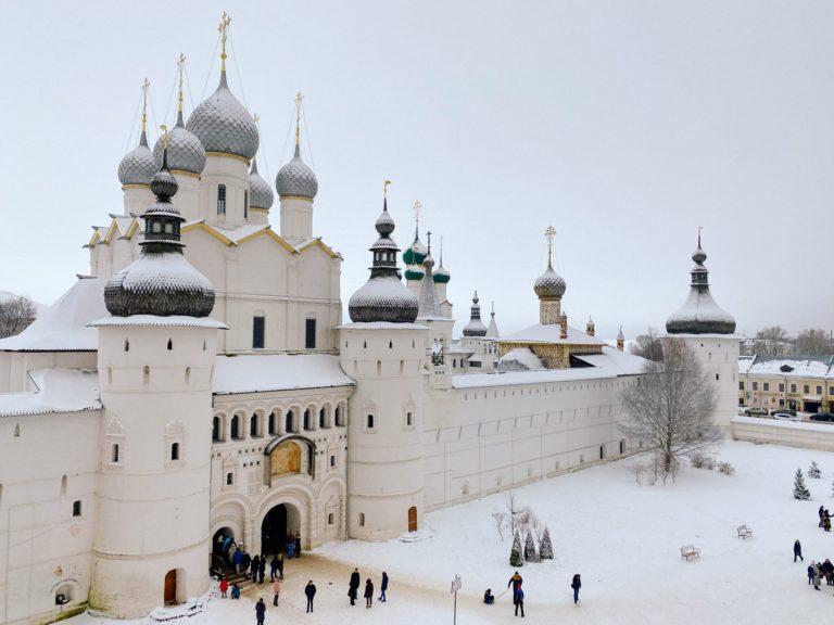 Ростовский Кремль зимой фото